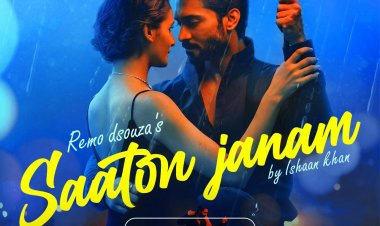 Salman Yusuff Khan and Shakti Mohan's sizzling chemistry in the romantic track 'Saaton Janam' is not to be missed