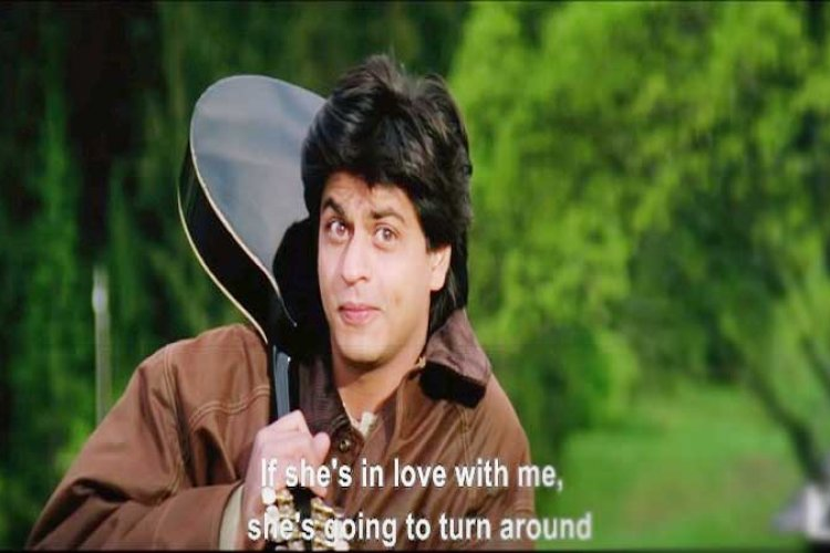 DDLJ's scenes are inspired by Hollywood films