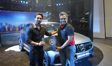 Salman Yusuff Khan unveils the all-new model of Mercedes-Benz AMG GLC 43 Coupe