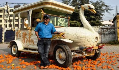 K.Sudhakar: Meet the man who runs the popular wacky car museum in Hyderabad