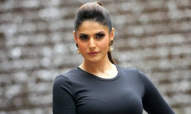 Zareen Khan raises funds to help her school time tuition teacher