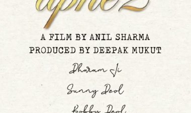 Karan Deol joins the family franchise with Dharmendra, Sunny Deol, Bobby Deol for the sequel of 'Apne 2'