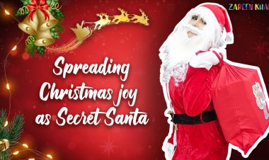 Watch video: Zareen Khan turns Santa Claus to spread some Christmas cheer