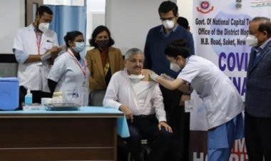 COVID-19 vaccination drive begins in India