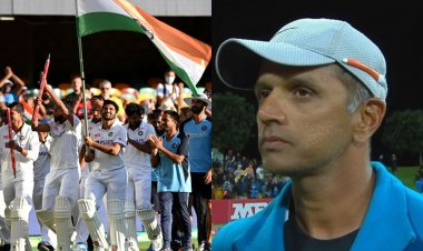 Gabba test win: Twitterati praises Rahul Dravid for coaching the young Indian players