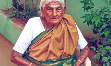 105-year-old organic farmer from Coimbatore honoured with Padma Shri
