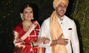 Dia Mirza and Vaibhav Rekhi tie the knot, See beautiful pics of the newlyweds