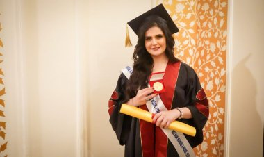 Zareen Khan receives honorary doctorate from American University of Global Peace and Nelson Mandela Nobel Peace Award Academy