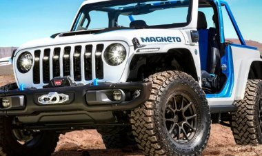 Jeep Wrangler Magneto Electric SUV Concept Unveiled