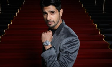 Timex unveils new campaign 'We don't stop' with Sidharth Malhotra