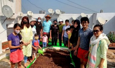 Mumbai housing society grows organic veggies; turns garbage into fertilizer