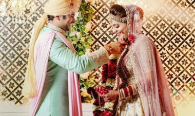 'The Kapil Sharma Show' fame Sugandha Mishra and Sanket Bhosale tie the knot