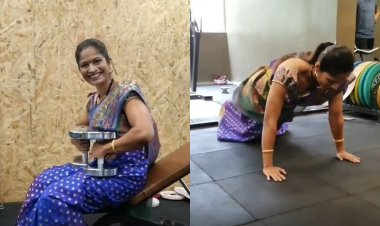 THIS video of fitness enthusiast Dr Sharvari Inamdar training in a saree will give you a push to hit the gym