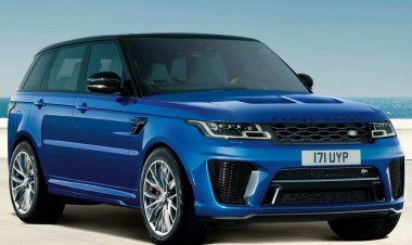 Range Rover Sport SVR launched in India by Jaguar Land Rover pricing 2.19 crore