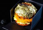 Louis Burger's limited edition burgers served with a gold leaf are not to be missed