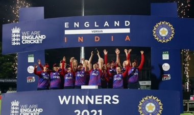 England women won the multi-format series against India Women by 10-6