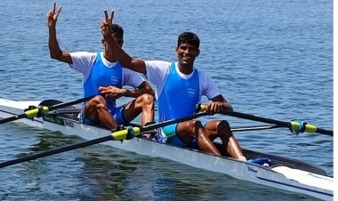 Indian rowers Arjun Lal Jat and Arvind Singh make way to the semifinals for the first time in Olympics