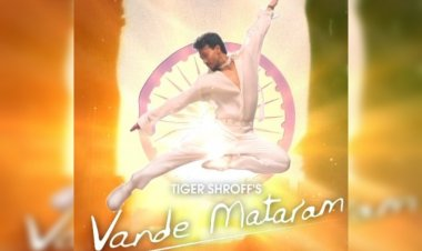 Vande Mataram song: Tiger Shroff releases his debut Hindi song ahead of Independence Day