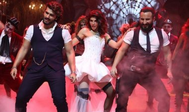 The spooky song of the year, 'Aayi Aayi Bhoot Police' featuring Saif, Arjun, and Jacqueline, is out