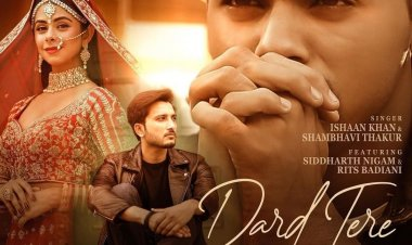 'Dard Tere' song featuring Siddharth Nigam and Rits Badiani released