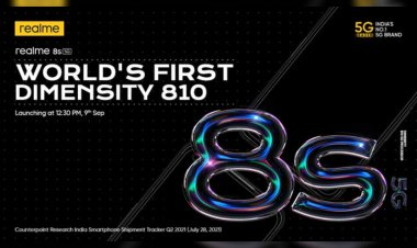 Realme 8s 5G and Realme 8i to launch in India on 9 September with MediaTek chipsets