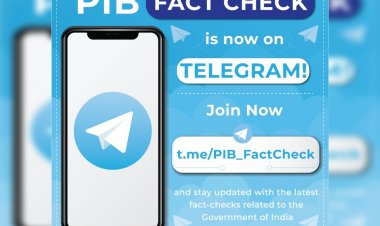 I&B Ministry launches fact-checking account on Telegram to counter fake news