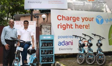Yulu join hands with Adani electricity to facilitate 24X7 battery charging stations across Mumbai