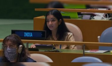 United Nations General Assembly: India's first young UN secretary gives a befitting reply to Pakistan