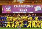 Chennai Super Kings lifts the IPL Trophy for the fourth time