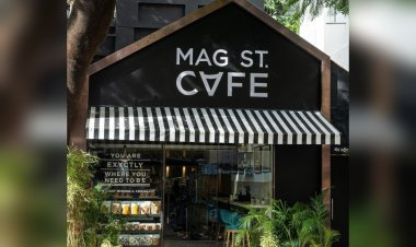 Mag St. Cafe in Apollo Bunder is a cafe-cum-restaurant that serves wholesome breakfast