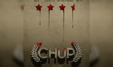 R Balki reveals the motion poster of his upcoming film 'Chup' starring Dulquer Salmaan and Sunny Deol
