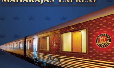 India's Maharaja Express has been voted the world's leading luxury train