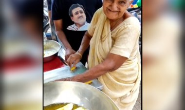 This 75-year-old dadi selling fafda is winning the hearts of Nagpurkars