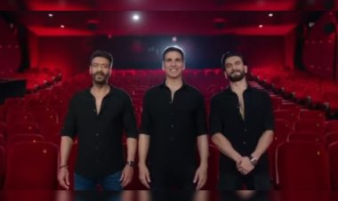 Sooryavanshi: Rohit Shetty shares a special promo featuring Akshay Kumar, Ajay Devgun, and Ranveer Singh to announce the film's release date