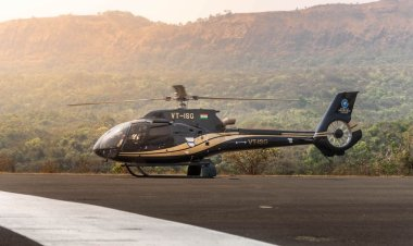 Helicopter service between Pune and Mumbai to cover 5 hours travel in 40 minutes