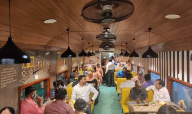 CSMT's one-of-a-kind 'Restaurant on Wheels' is worth a visit