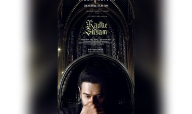 Prabhas unveiled another poster of Radhe Shyam ahead of his birthday