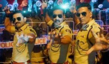 Aila Re Ailla Song: Akshay Kumar, Ajay Devgn and Ranveer Singh dance to the quirky song
