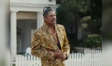 CRED ad features Kapil Dev in a never seen before avatar