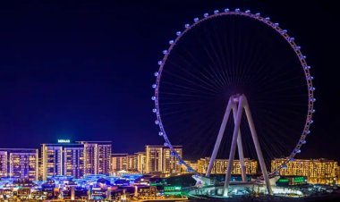 'Dubai Eye' the world's largest and tallest Ferris wheel is a must visiting tourists attraction